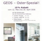 Oster-Spezial bis 20.April 2018